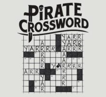 Pirate crossword by jjy2k