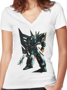 Drift Decepticon! Women's Fitted V-Neck T-Shirt