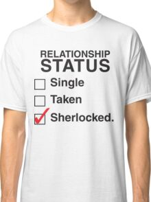 SINGLE TAKEN SHERLOCKED Classic T-Shirt
