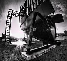 Titanic Series No2. Bow Section by Chris Cardwell