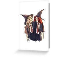 Lily Evans & Marlene McKinnon Greeting Card