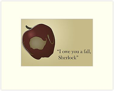 I owe you a fall Sherlock by LeapandiDesign