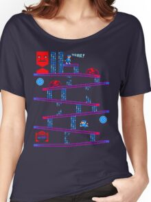 DONKEY TRON Women's Relaxed Fit T-Shirt