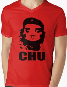 CHU Mens V-Neck T-Shirt