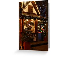 Christmas Markets - Leidseplein  Greeting Card