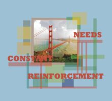 Needs Constant Reinforcement by Ryan Kleczka