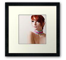 collar  Framed Print