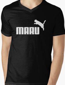 MARU Mens V-Neck T-Shirt