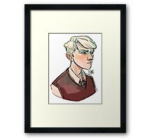 Draco Framed Print
