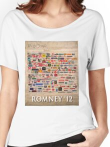 We the people, Romney 2012 Women's Relaxed Fit T-Shirt
