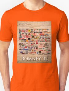 We the people, Romney 2012 Unisex T-Shirt