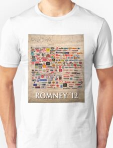 We the people, Romney 2012 T-Shirt