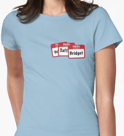 YoSafBridget Womens Fitted T-Shirt