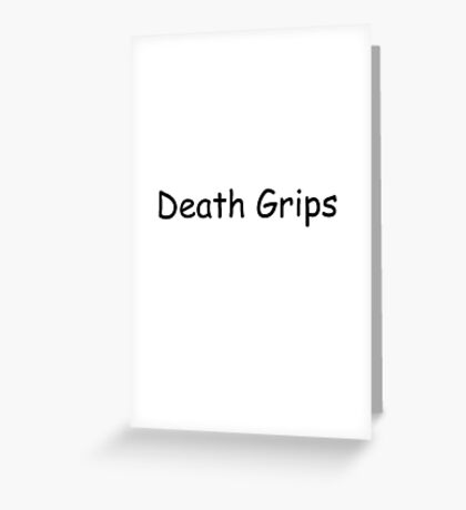 Death grips cool Greeting Card