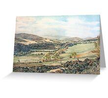 Glen Prosen,Angus,Scotland Greeting Card
