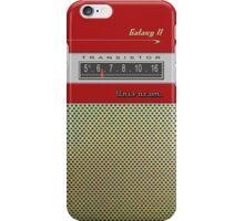 Transistor Radio - Galaxy II Red iPhone Case/Skin