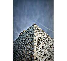 The Cheese Grater, Sheffield, England. Photographic Print