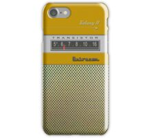 Transistor Radio - Galaxy II Gold iPhone Case/Skin