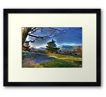 Padarn Banks Framed Print
