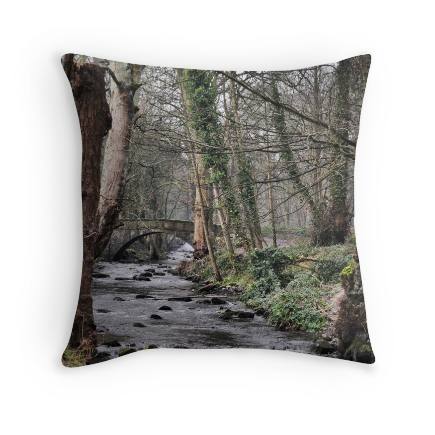 Sheffield Home Throw Pillow :