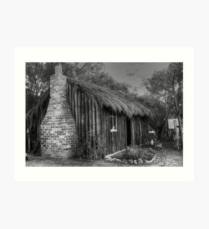 Mrs Stevens Cottage  Art Print