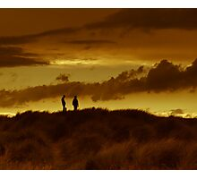 Dune silouhette Photographic Print