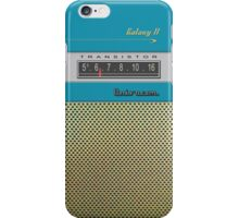 Transistor Radio - Galaxy II Blue iPhone Case/Skin