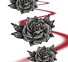 Tattooed Roses by Mimi Robinson