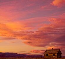 Big Colorful Colorado Sky and Little House On The Prairie by Bo Insogna