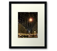A star will show you the way Framed Print