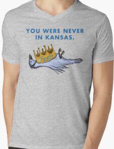 You Were Never in Kansas Mens V-Neck T-Shirt