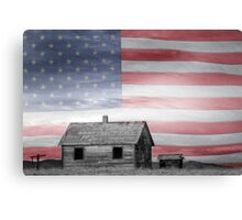 Rustic America Canvas Print