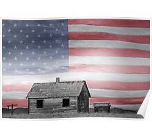Rustic America Poster