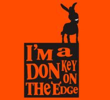 I'm a donkey on the edge! Kids Clothes