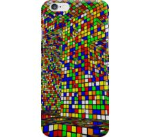 Menger and Rubik in Disco Valley, blind drunk iPhone Case/Skin