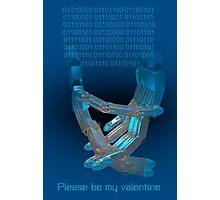 Please Be My Valentine Photographic Print