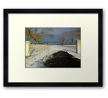 Just the right amount Framed Print