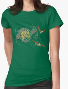Tie-Rex Womens Fitted T-Shirt