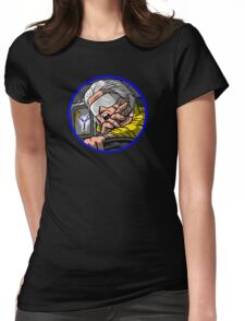 Time Travel Racer 2 Doc Version Womens Fitted T-Shirt