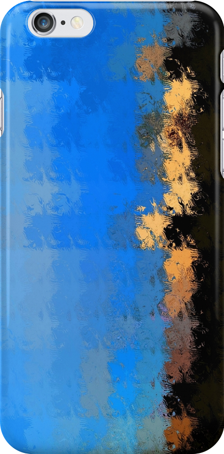 iPhone Case of painting Edgy.. by linmarie