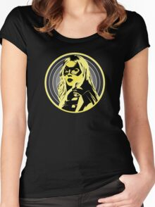 Arrow: Black Canary Women's Fitted Scoop T-Shirt
