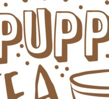 (I LOVE) Wholefoods and puppies and tea Sticker
