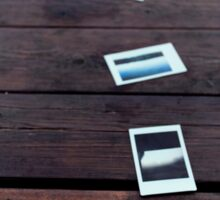 Treasuring life in photographs Sticker