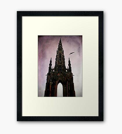 Scott Monument Edinburgh Scotland Framed Print