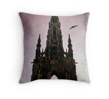 Scott Monument Edinburgh Scotland Throw Pillow