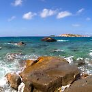 Virgin Gorda - Panoramic - Made of Rocks by Jonathan Bartlett