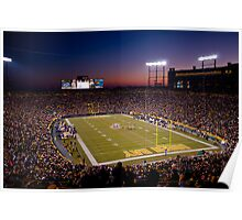 Lambeau at Sunset (no watermark) Poster