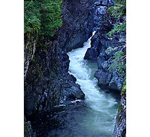 Sooke River Gorge Photographic Print