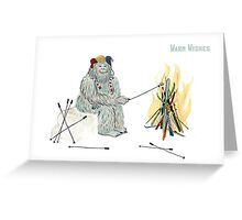 Yeti Basecamp Greeting Card