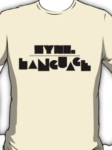 Language Tee T-Shirt